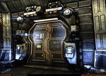 Sci-Fi Corridor v.2 [UDK] - Close-Up 1