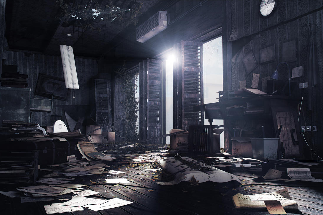 Abandoned Office -- Re-Composited Version by amirabd2130