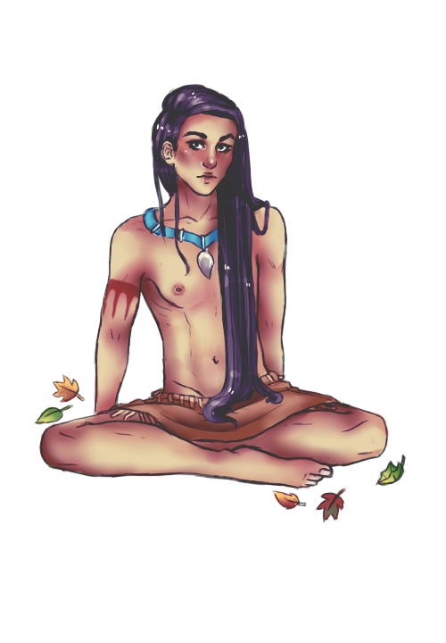 Pocahontas by dancingwithdinosaur