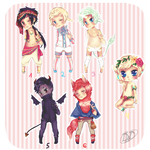 Giveaway adoptables 2 OVER