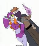 Mega-Zoey and Rythian