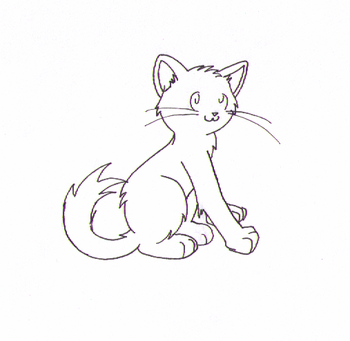 Warrior Cat Coloring Pages #1