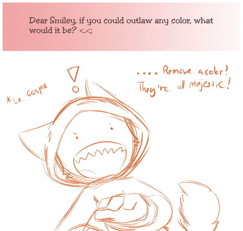 Ask the 'Devivs: Outlawing Colors by SmilehKitteh