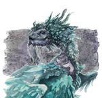 Birb Dragon goes chrrrrp