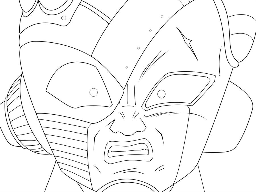 Golden Freezer Para Colorear: Imagenes De Goku Vs Freezer Para Dibujar Imagui