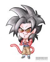 Chibi Goku SSJ4 by E2A4
