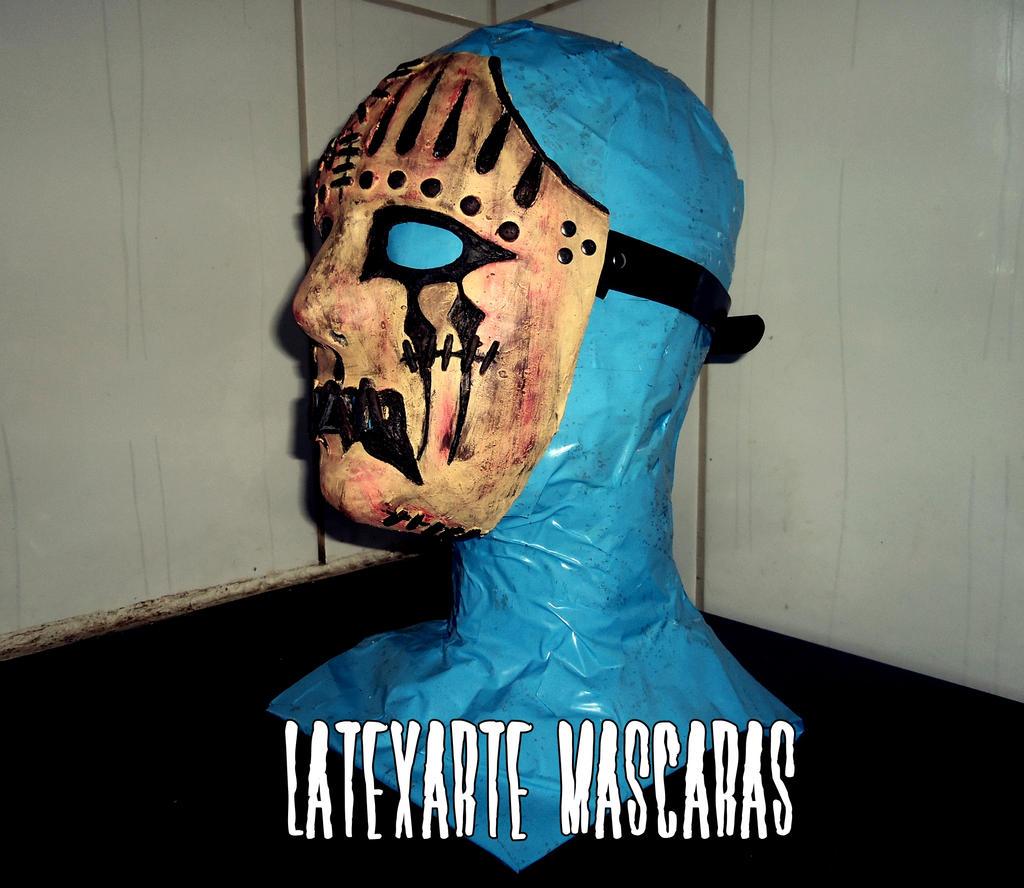 Joey Jordison Slipknot Mask by latexarte on DeviantArt