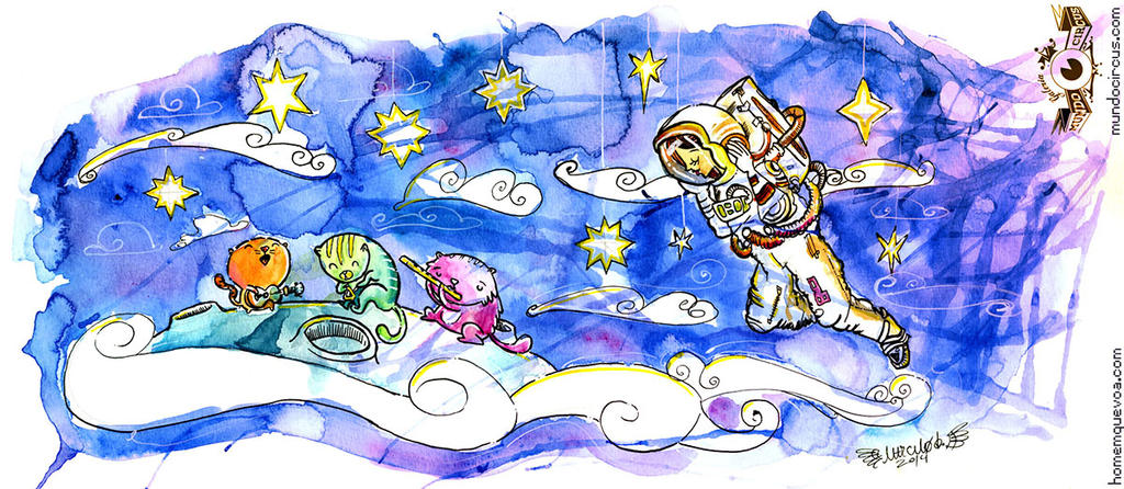 Space Cats by circuscreative