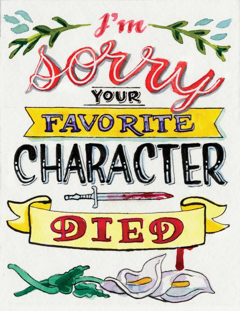 Condolences Card by animatey
