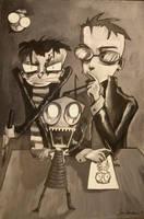 Jhonen Vasquez Characters by animatey