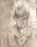 Gangsterman by animatey