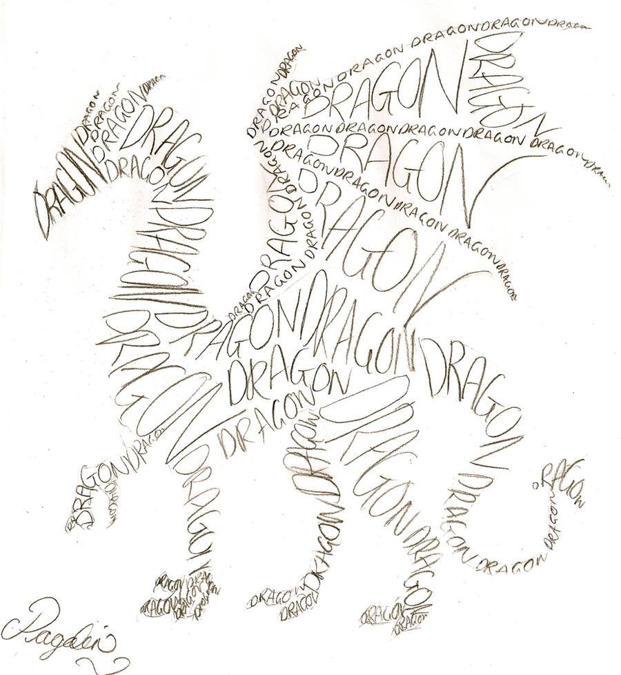 calligram by TheBlackFalcon on DeviantArt: theblackfalcon.deviantart.com/art/calligram-295028492