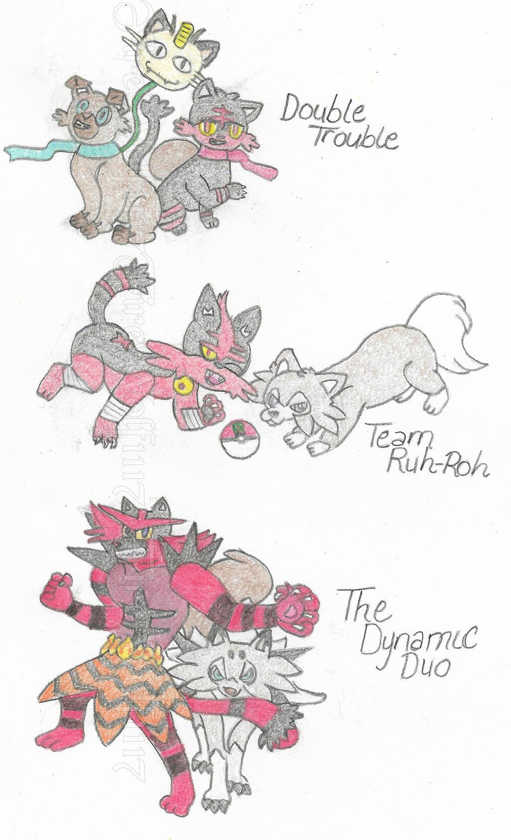 Team Rocket of Pokemon by FireWolf1117