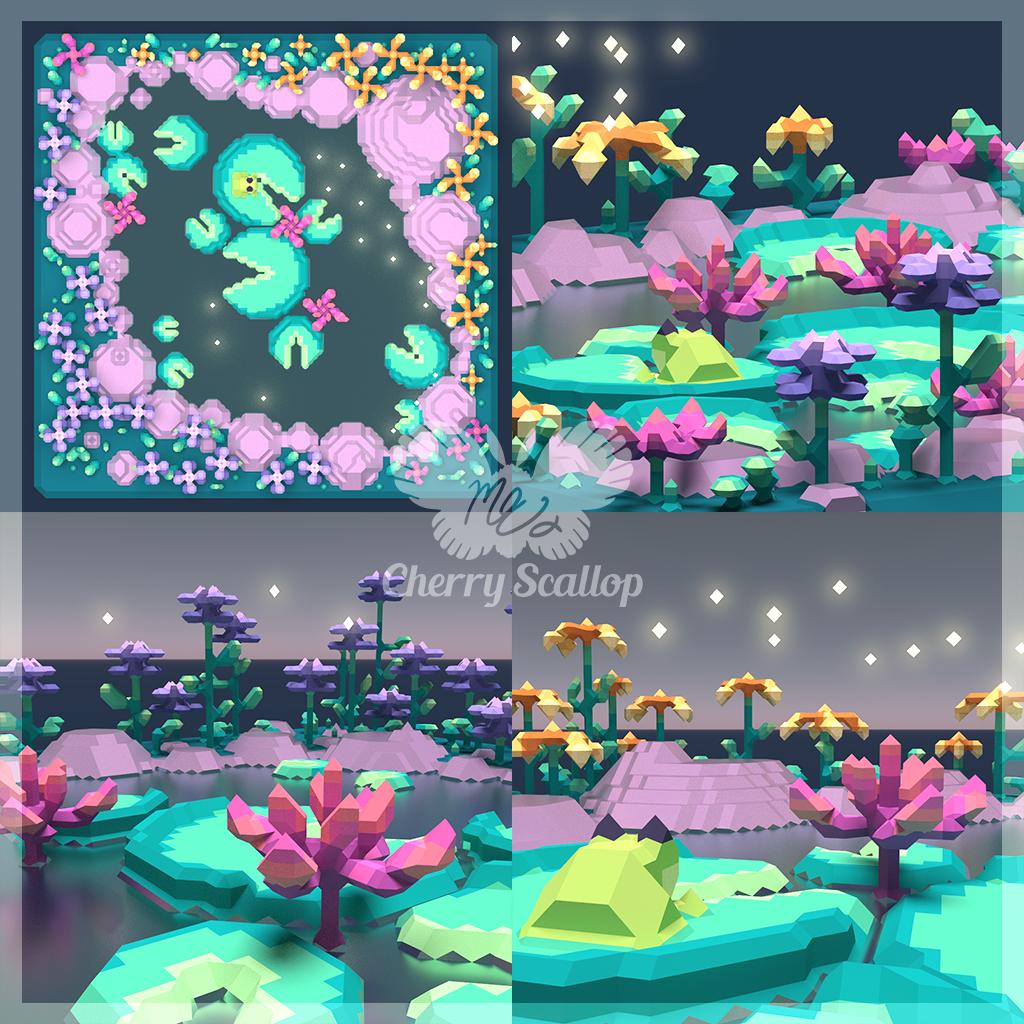 Voxel Fairy Pond 2