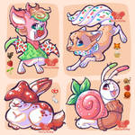 OPEN - Cottagecore Critters by CherryScallop
