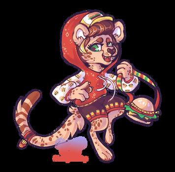 OPEN - Cheeseburger Cheetah