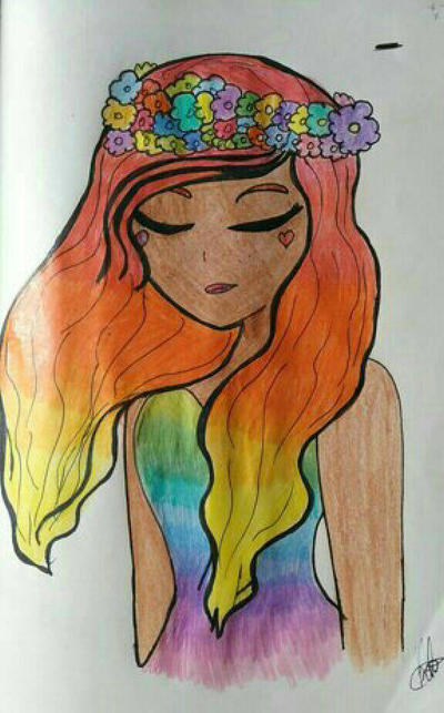 LGBT girl by KalaHamato