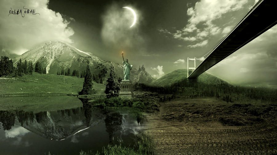 Rogue GFX Featured photo manipulation thread People_is_gone_by_tolgaordu-d4k33ja