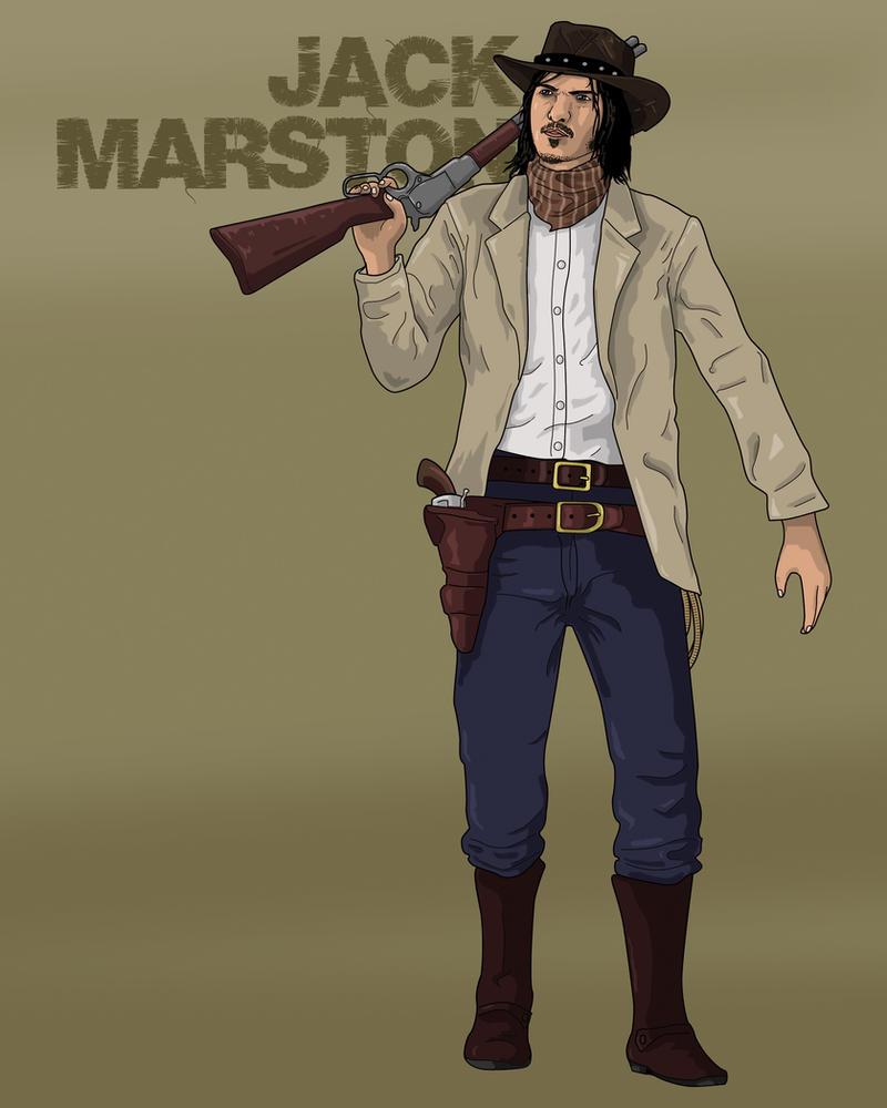 Jack Marston by Gait44