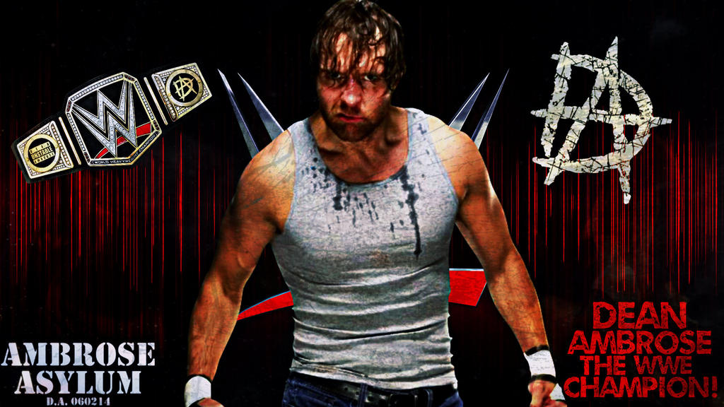 Dean Ambrose Custom Wallpaper By AmbriegnsAsylum16