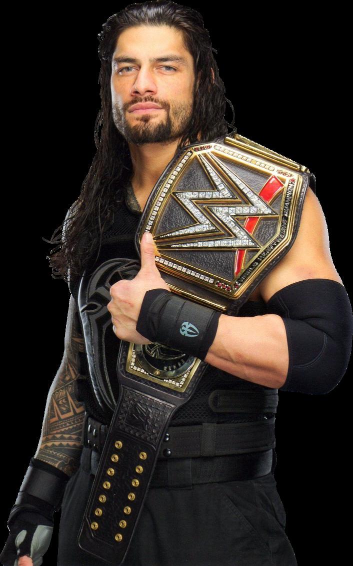 Roman Reigns 2016 WWE WHC PNG by AmbriegnsAsylum16 on DeviantArt