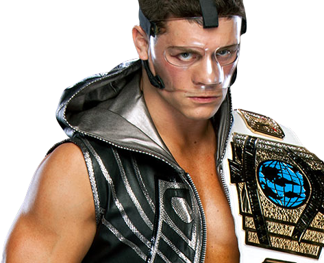 Cody Rhodes 2011 Intercontinental Champion PNG by