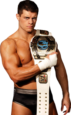 Cody Rhodes 2011 Intercontinental Champion PNG 2 by