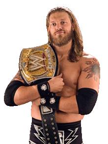 Edge Wwe Champion W Beard Png By Ambriegnsasylum
