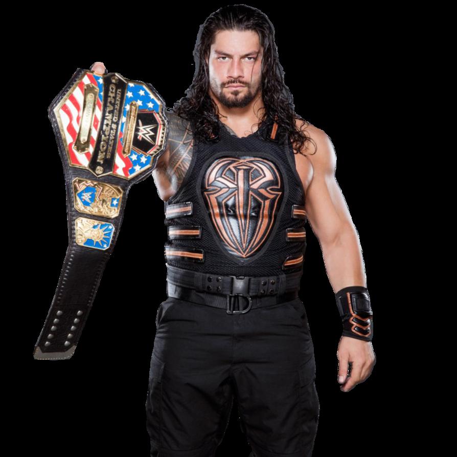 Roman Reigns U.S. Champion 2016 PNG by AmbriegnsAsylum16 on DeviantArt