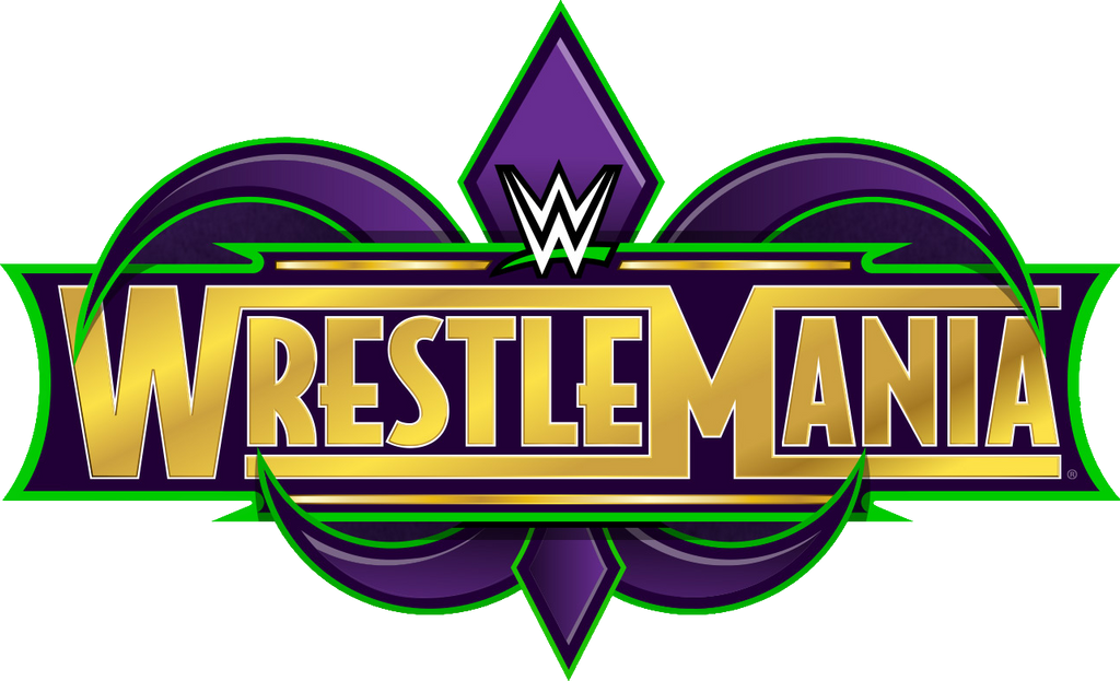 Image result for wrestlemania 34 logo