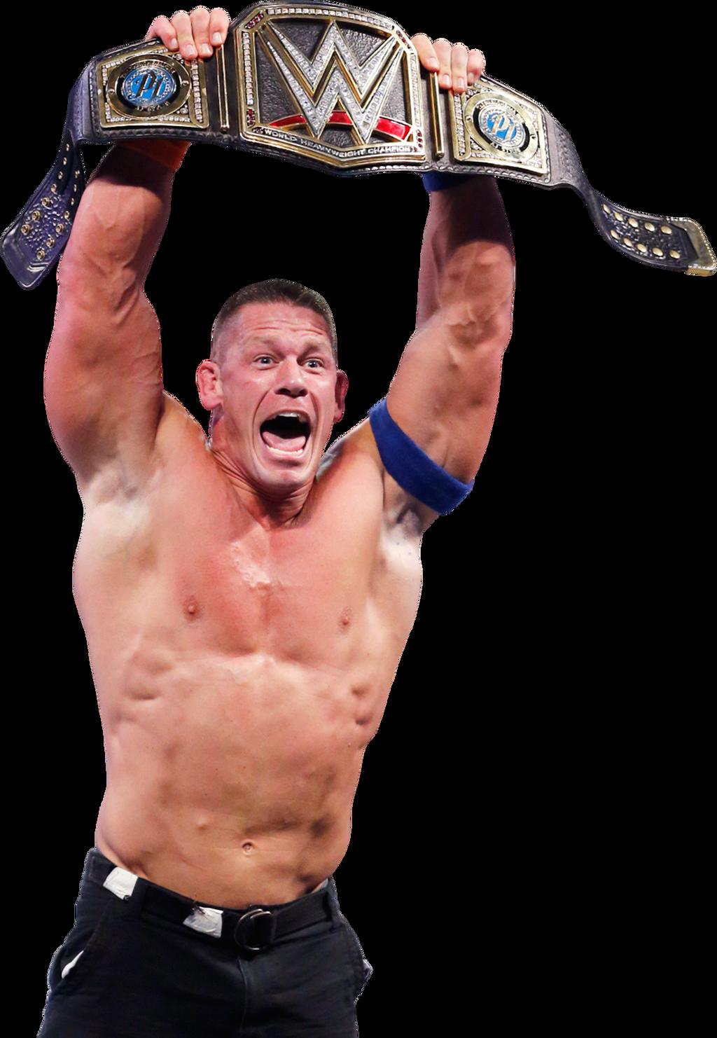 John Cena Wins The WWE Championship RR 2017 Render by ...
