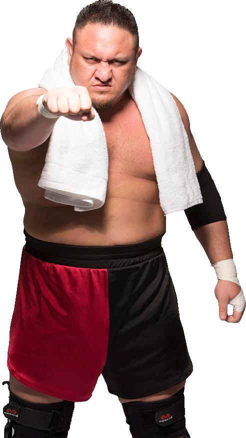 Samoa Joe RAW 2017 PNG by AmbriegnsAsylum16 on DeviantArt