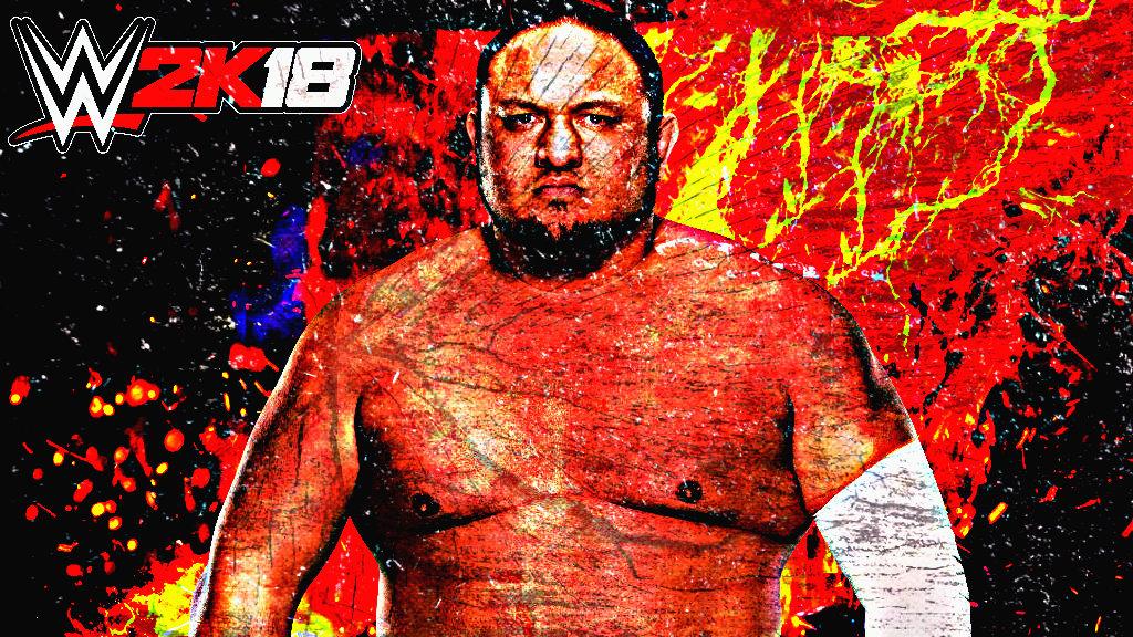 Samoa Joe WWE 2K18 Custom Wallpaper By AmbriegnsAsylum16