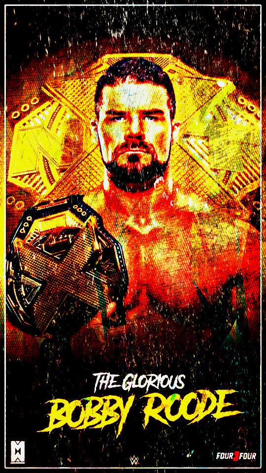 NXT Champion Bobby Roode Custom Mobile Wallpaper By AmbriegnsAsylum16