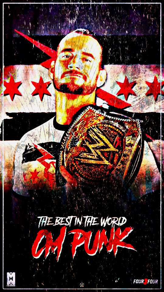 Wallpapers of cm punk wwe newwallpapers cm punk wwe champion custom mobile wallpaper by ambriegnsasylum16 on voltagebd Choice Image
