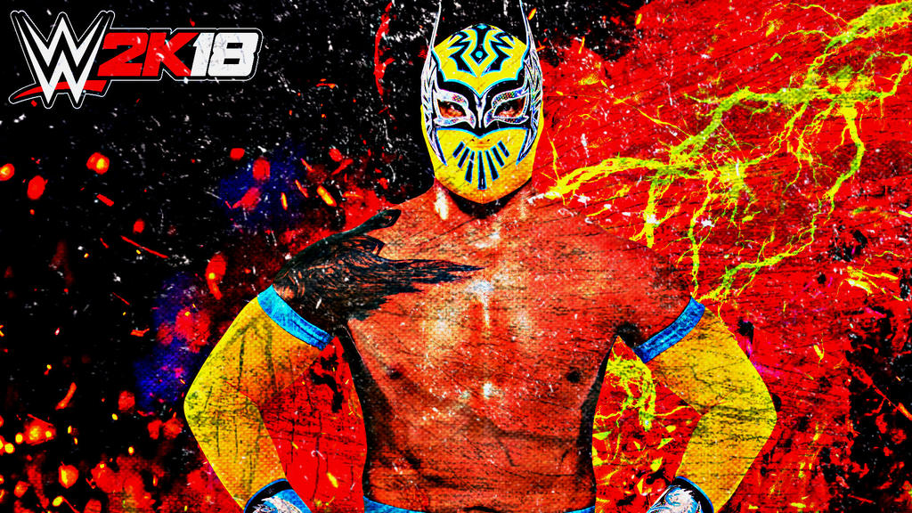 Sin Cara WWE 2K18 Custom Wallpaper By AmbriegnsAsylum16