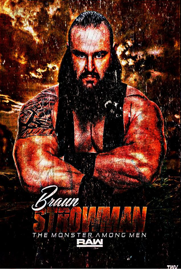 Braun strowman 39 monster among men 39 wallpaper by ambriegnsasylum16 on deviantart - Braun strowman theme ...