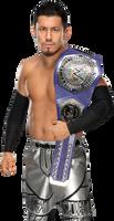 Akira Tozawa Cruiserweight Champion 2017 NEW PNG