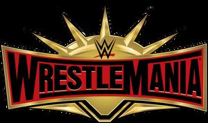 WrestleMania 35 Logo PNG