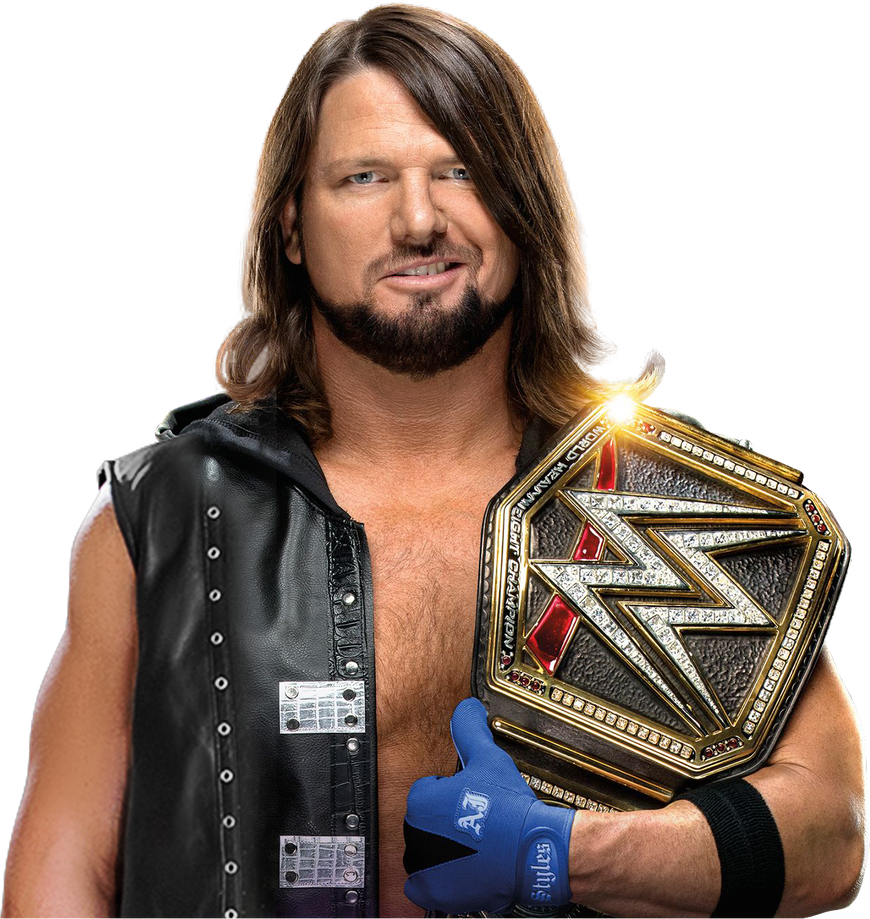 dfbe4a8728e03 AJ Styles 2018 WWE Champion NEW PNG by AmbriegnsAsylum16 on DeviantArt