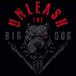 Roman Reigns 'Unleash The Big Dog' 2018 NEW Logo