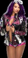 Sasha Banks Evolution 2018 Render by AmbriegnsAsylum16