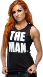 Becky Lynch 'The Man' 2018 NEW Render by AmbriegnsAsylum16