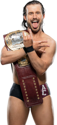 Adam Cole NXT North American Champion NEW Render by AmbriegnsAsylum16