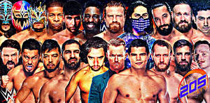 205 Live Roster 2019 Wallpaper by AmbriegnsAsylum16