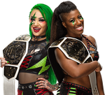 Shotzi and Ember NXT Women's Tag-Team Champs