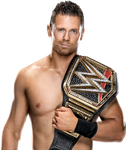 The Miz WWE Champion 2021 PNG