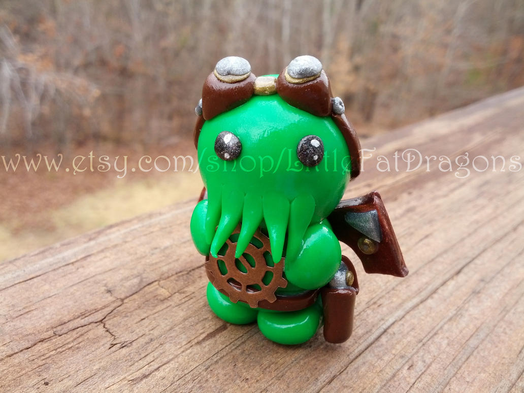 Little Fat Steampunk Cthulhu by LittleFatDragons