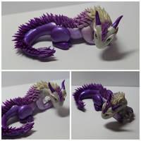 Oriental Style Dice Dragon by FatDragonArtworks
