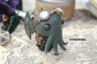 Steampunk Cthulhu - Reborn by FatDragonArtworks